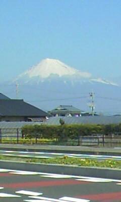 静岡市からの富士山